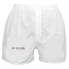 Just One More Episode Boxer Shorts