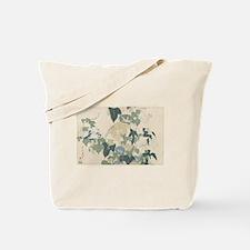 Morning Glories by Hokusai Tote Bag