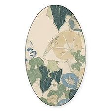 Morning Glories by Hokusai Decal