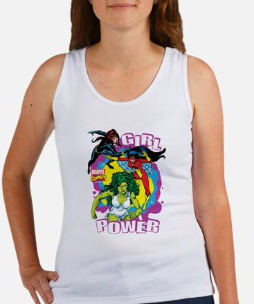 Marvel Comics Girl Power Women's Tank Top