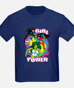 Marvel Comics Girl Power T