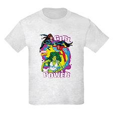 Marvel Comics Girl Power T-Shirt