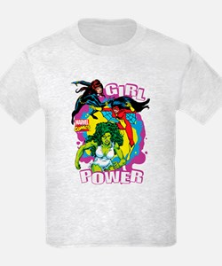 Marvel Comics Girl Power T-Shirt
