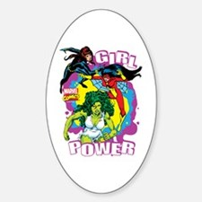 Marvel Comics Girl Power Decal