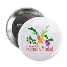 Farmer's Market Button