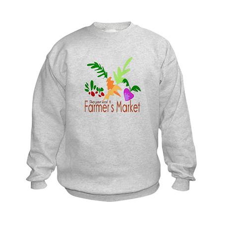 Farmer's Market Kids Sweatshirt