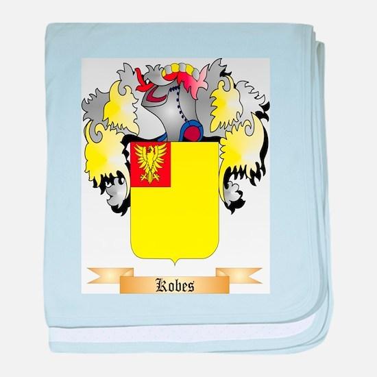 Kobes baby blanket