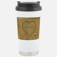 Rhiannon Beach Love Stainless Steel Travel Mug