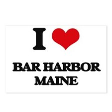 I love Bar Harbor Maine Postcards (Package of 8)