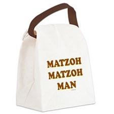 Matzoh Matzoh Man Canvas Lunch Bag