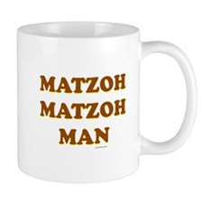 Matzoh Matzoh Man Mugs