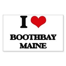 I love Boothbay Maine Decal