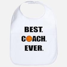 Basketball Best Coach Ever Bib