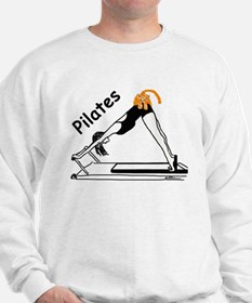 Pilates Cat Sweatshirt