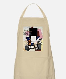 Malevich - Composition with Mona Lisa Apron