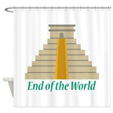 End Of World Shower Curtain