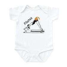 Pilates Cat Infant Bodysuit