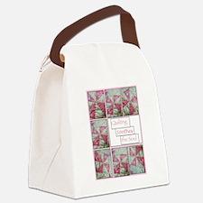 Pinwheel Canvas Lunch Bag