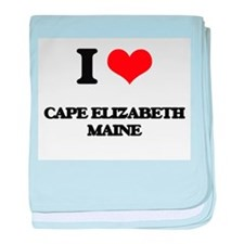 I love Cape Elizabeth Maine baby blanket