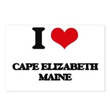 I love Cape Elizabeth Mai Postcards (Package of 8)
