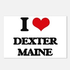 I love Dexter Maine Postcards (Package of 8)