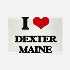 I love Dexter Maine Magnets