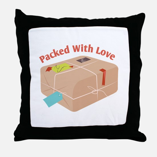 Packed With Love Throw Pillow