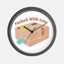 Packed With Love Wall Clock