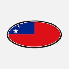Samoan flag Patch