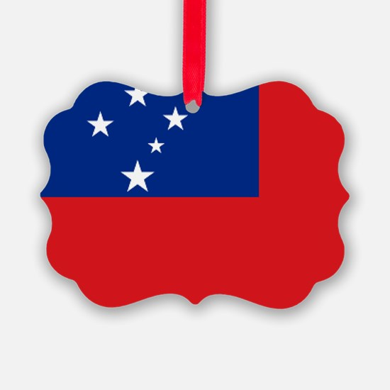 Samoan flag Ornament