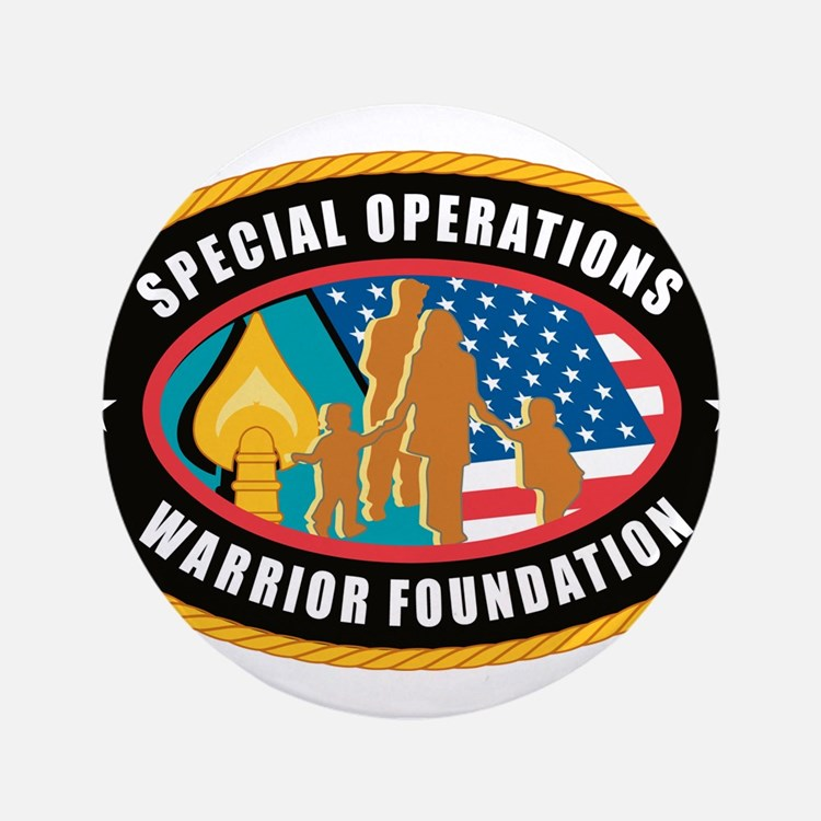 """Special Operations Warrior Foundation 3.5"""" Button"""