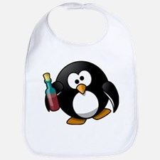 Drunk Penguin Bib