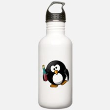 Drunk Penguin Water Bottle