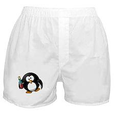 Drunk Penguin Boxer Shorts