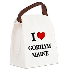 I love Gorham Maine Canvas Lunch Bag