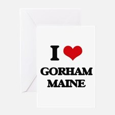 I love Gorham Maine Greeting Cards