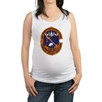 USS GEORGE WASHINGTON CARVER Maternity Tank Top