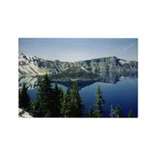 Funny Lakes Rectangle Magnet