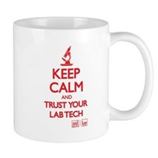 Keep Calm Lab Mugs