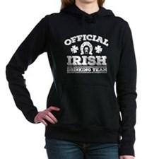 Official Irish Drinking Team Hooded Sweatshirt
