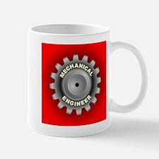 Mechanical Engineer Gear Red Mug