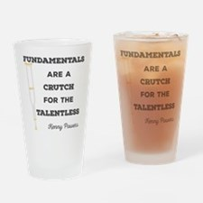Crutch for the Talentless Drinking Glass