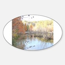 Reflections Across the Pond Decal
