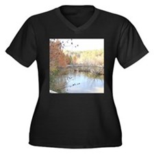 Reflections Across the Pond Plus Size T-Shirt