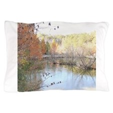 Reflections Across the Pond Pillow Case