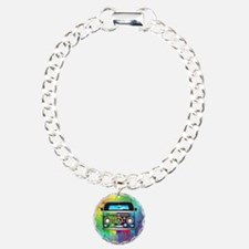 Hippie Van Dripping Rainbow Paint Bracelet