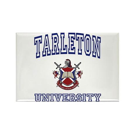 TARLETON University Rectangle Magnet