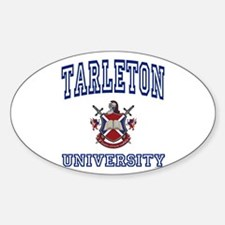 TARLETON University Oval Decal