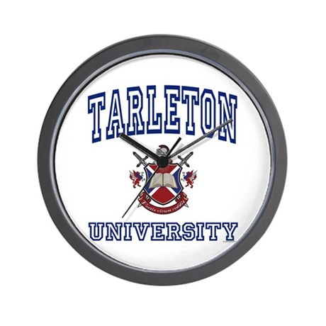TARLETON University Wall Clock