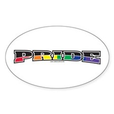 Pride Inside Oval Decal